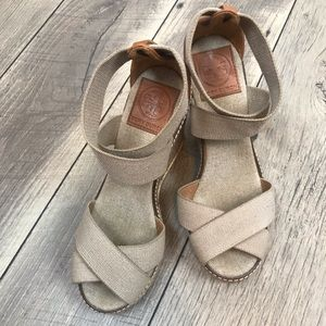 {Tory Burch} Espadrille Wedges